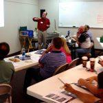 Bill Lubawy teaching Beginning Sailing